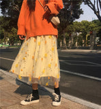 Autumn Flower Skirt