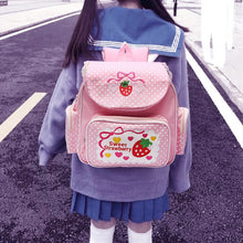 Load image into Gallery viewer, Sweet Strawberry Backpack