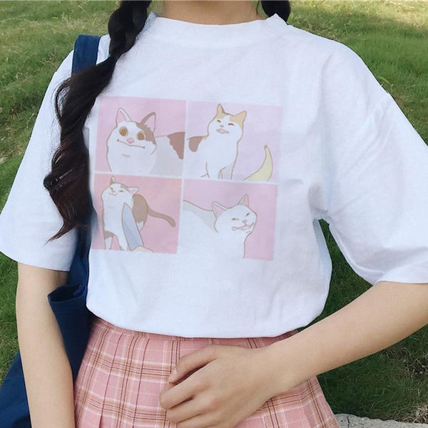 Cat Meme Shirt - Mochipan