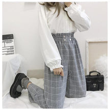 Load image into Gallery viewer, Japanese Lolita Style Wide Leg Pants-Mochipan