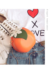 Load image into Gallery viewer, Cute Orange Bag