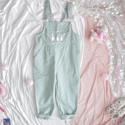 Goose Overalls - Mochipan