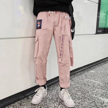 Load image into Gallery viewer, eGirl Punk Cargo Pants-Mochipan