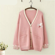 Load image into Gallery viewer, Cute Bunny Cardigan-Mochipan