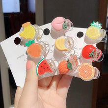 Load image into Gallery viewer, Fruits and Veggies Hair Claws-Mochipan