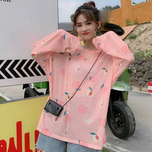 Load image into Gallery viewer, Cute Mesh Peach Shirt