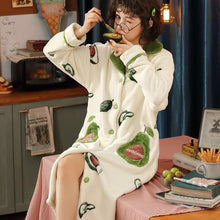 Load image into Gallery viewer, Avocado Garden Pajamas