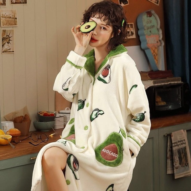 Avocado Garden Pajamas