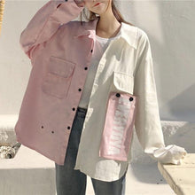 Load image into Gallery viewer, Contrast Pastel Jacket-Mochipan