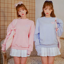 Load image into Gallery viewer, Love Print Pastel Sweater-Mochipan