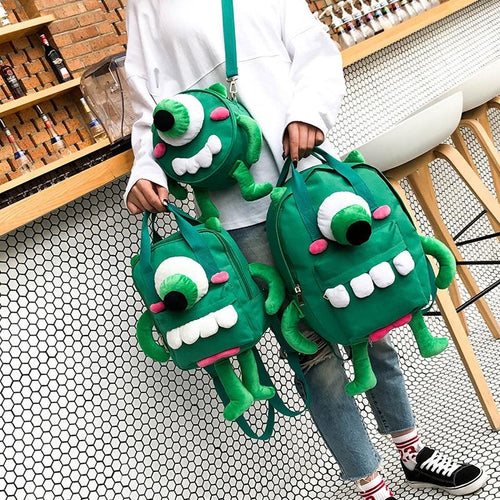 Green Monster Bag-Mochipan
