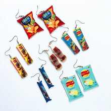 Load image into Gallery viewer, Snack Earrings-Mochipan
