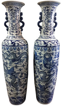 Porcelain Vases, Jars & Containers