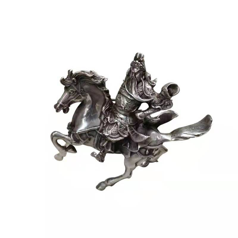 Bronze General Riding on Flying Horse