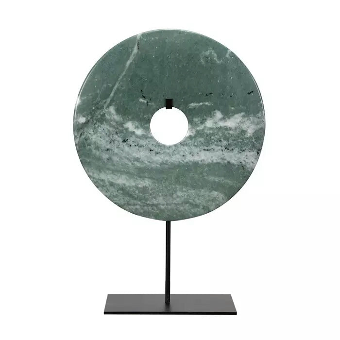 Natural Stone Carved Disc