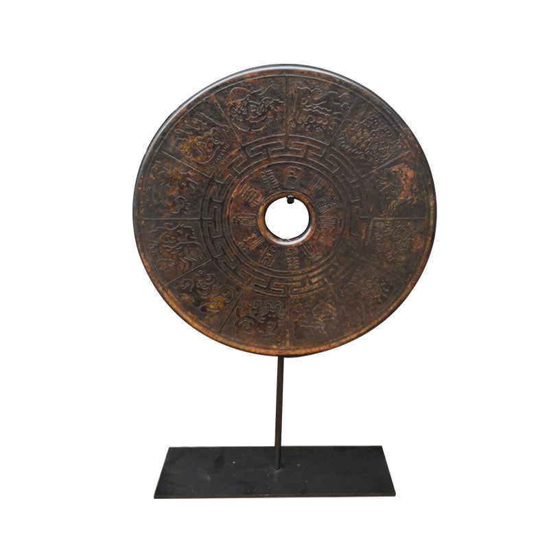 Stone Chinese Horoscope Disc