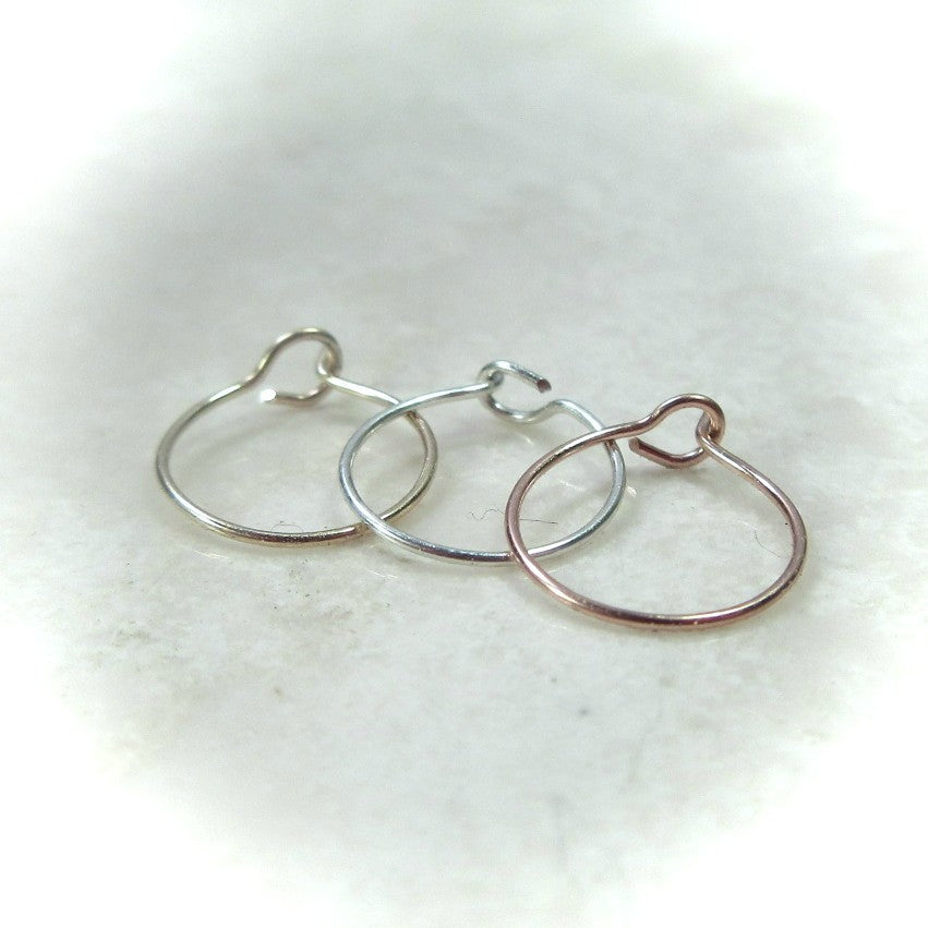 About Super Thin And Delicate Nose Rings 24 Gauge Nose Ring 26