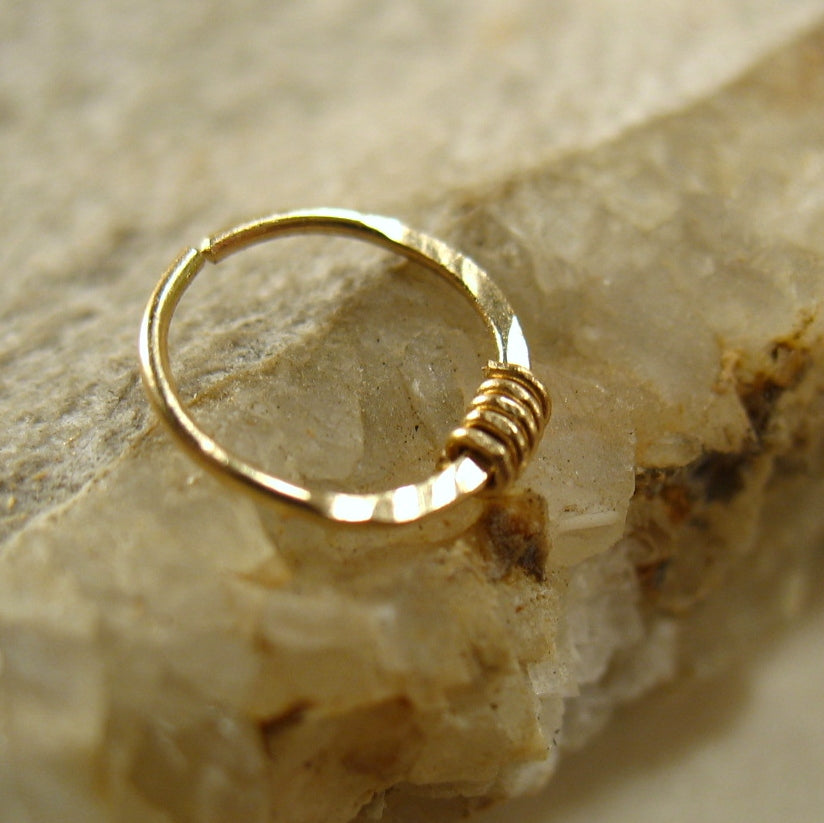 Nose Rings Solid 14k Gold