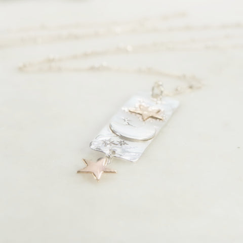 celestial witch collection long necklace