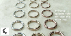 Information on earring gauges