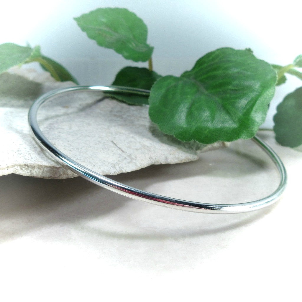 Silver Bangle Mystic Moon Shop