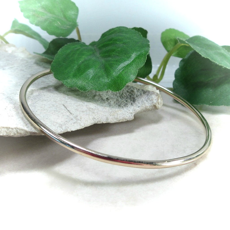 Gold Plain Bracelet Mystic Moon Shop