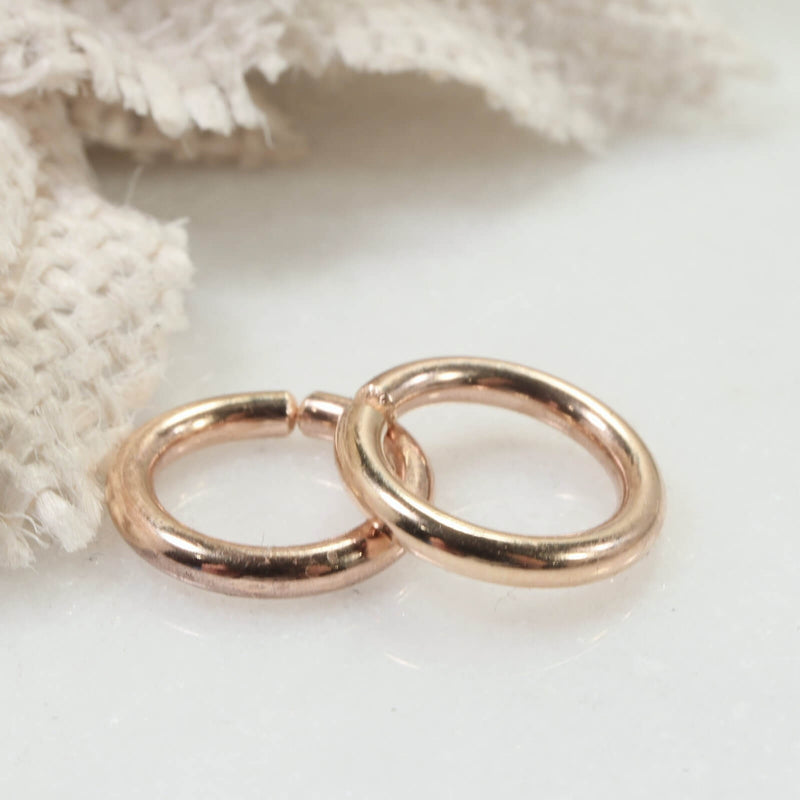 12 gauge hoop earring for piercings gold