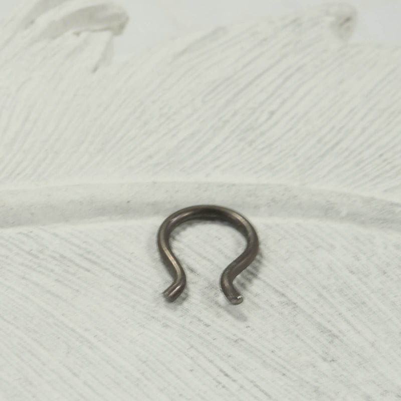 flared septum retainer bronze