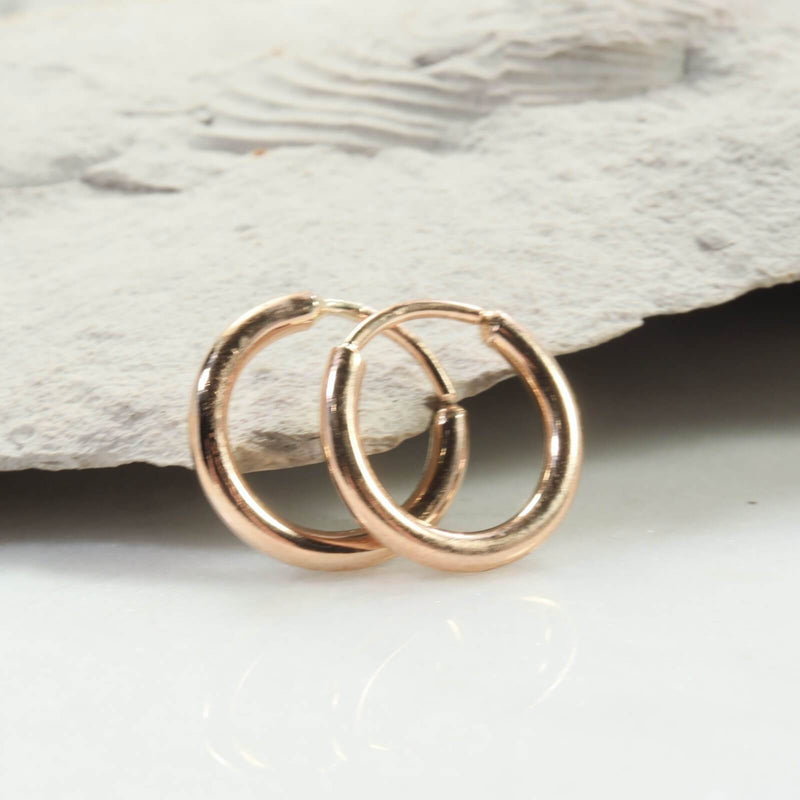 illusion hoops 12 gauge gold