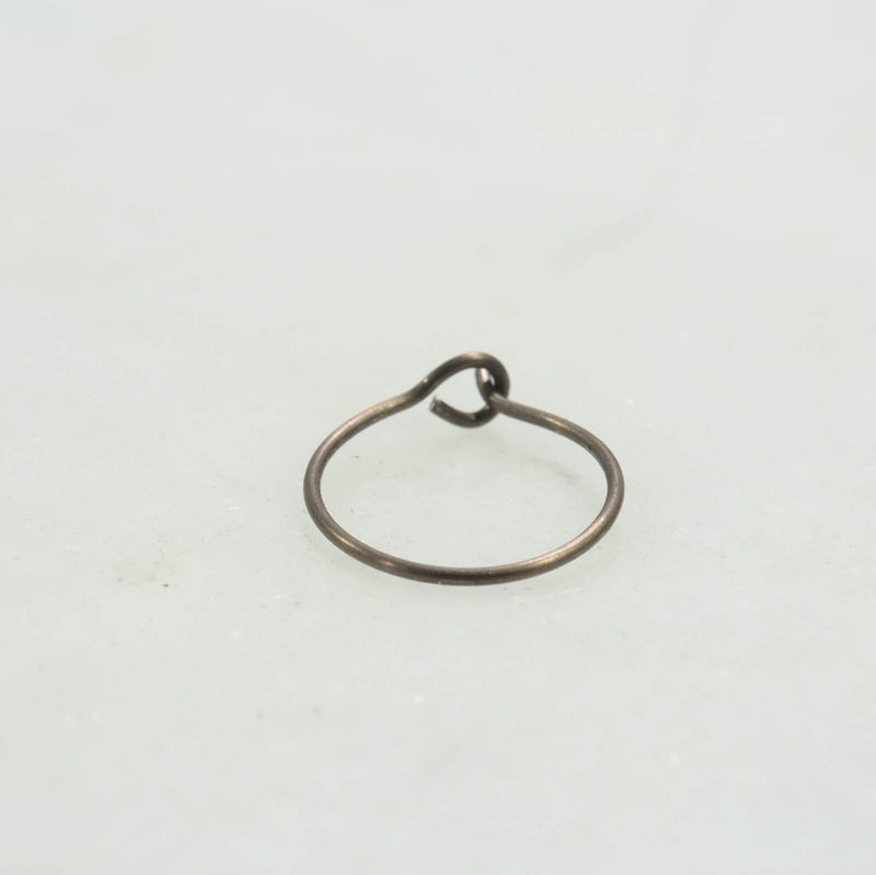 bronze niobium nose ring