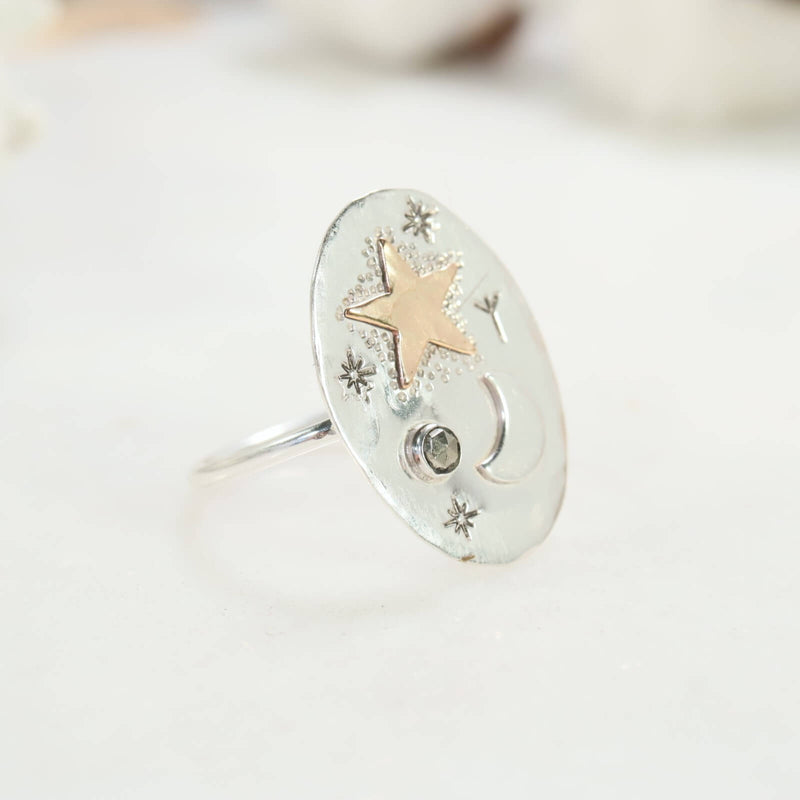 pyrite protection ring