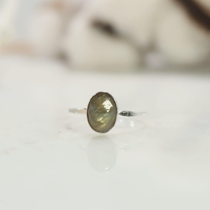 crystal healing ring