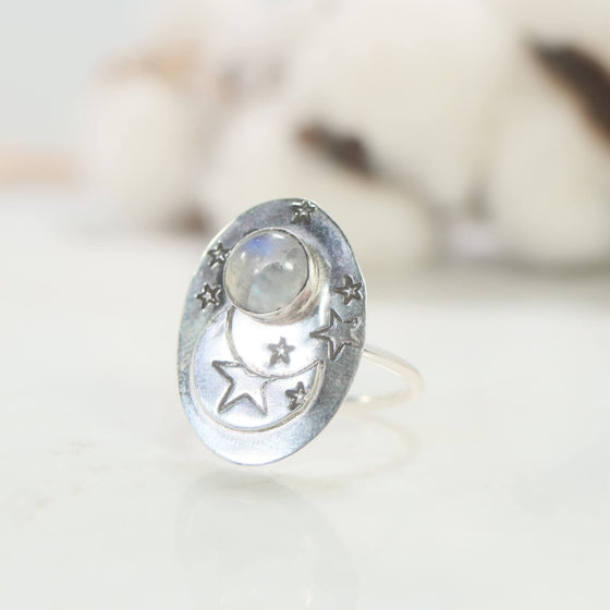 moon magic statement ring