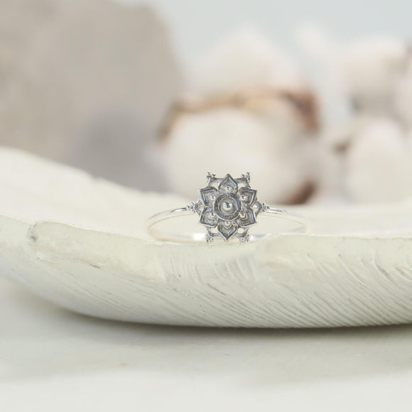mandala stacking ring