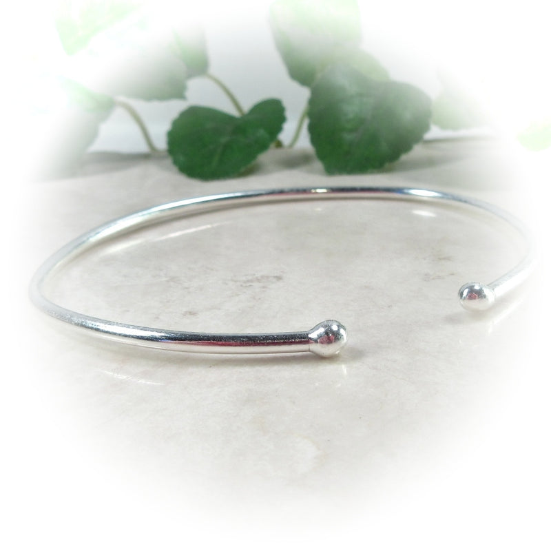 Mens or Womens Silver Cuff Bracelet