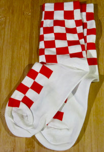 Checked Ankle socks - 2 colours