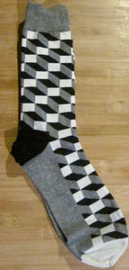 Fun Patterns Cotton blend Socks -7 colour choices