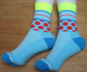 Polka Dots and/or Stripe Socks - 6 colours