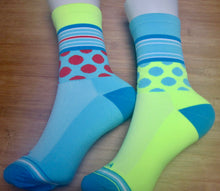 Load image into Gallery viewer, Polka Dots and/or Stripe Socks - 6 colours
