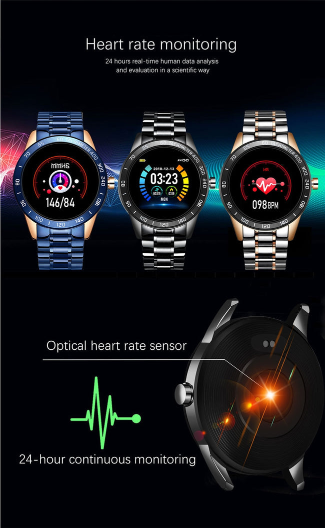 Luxury Waterproof Smart Watch