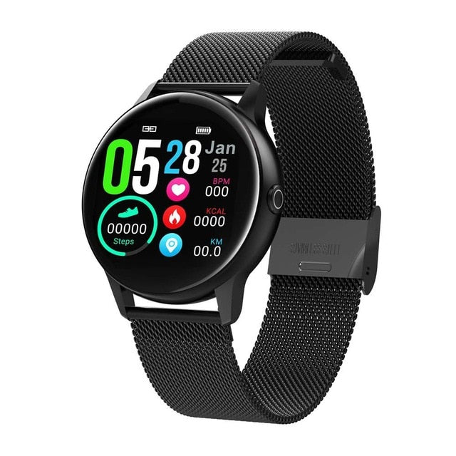 Waterproof Wearable Device Heart Rate Monitor Sports Smart Watch For Android