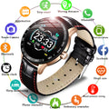 Waterproof Leather Man Watch | Smartwatch | fashionable watch | Smart Watch | Fitness Tracker | Smart Wrist Watch
