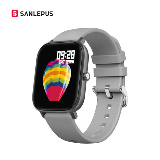 1.4 inch Smart Watch Men Full Touch Fitness Tracker Blood Pressure