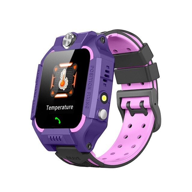 Temperature measurement Smart watch LBS Kid SmartWatches Baby Watch for Children SOS Call Location Finder Locator Tracker+Box