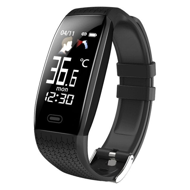 Smart Watch Temperature Heart Rate Monitor Fitness