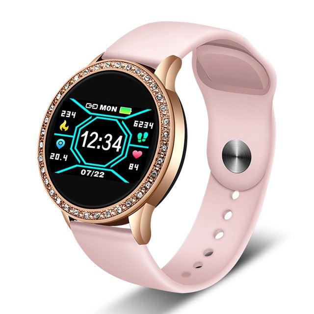 LIGE New Smart Watch Women Blood Pressure Heart Rate Monitor Sport Smart wrist Band Fitness tracker Smartwatch Reloj inteligente