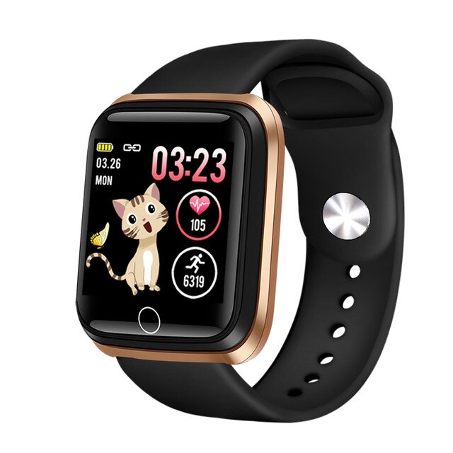 Smart watch waterproof Tempered glass Activity Fitness tracker