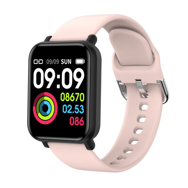 SENBONO Women Men Smart Watch For Android Apple Watch IP68 Waterproof Heart Rate Blood Pressure Smartwatch Men PK P68 P70 B57