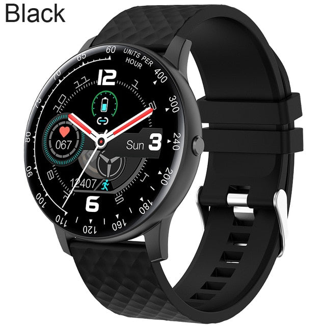 Full Touch Watch Smart Watch Men Blood Pressure IP68 Waterproof Smartwatch 2020 Fitness Tracker Watches Women For Android IOS