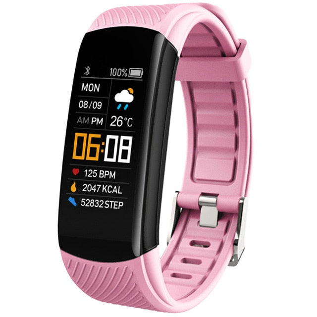Sport Smartwatch Blood Pressure Heart Rate Monitor